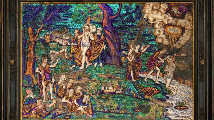 Il Musée du Quai Branly acquisterà un raro mosaico di piume dell'epoca coloniale messicana