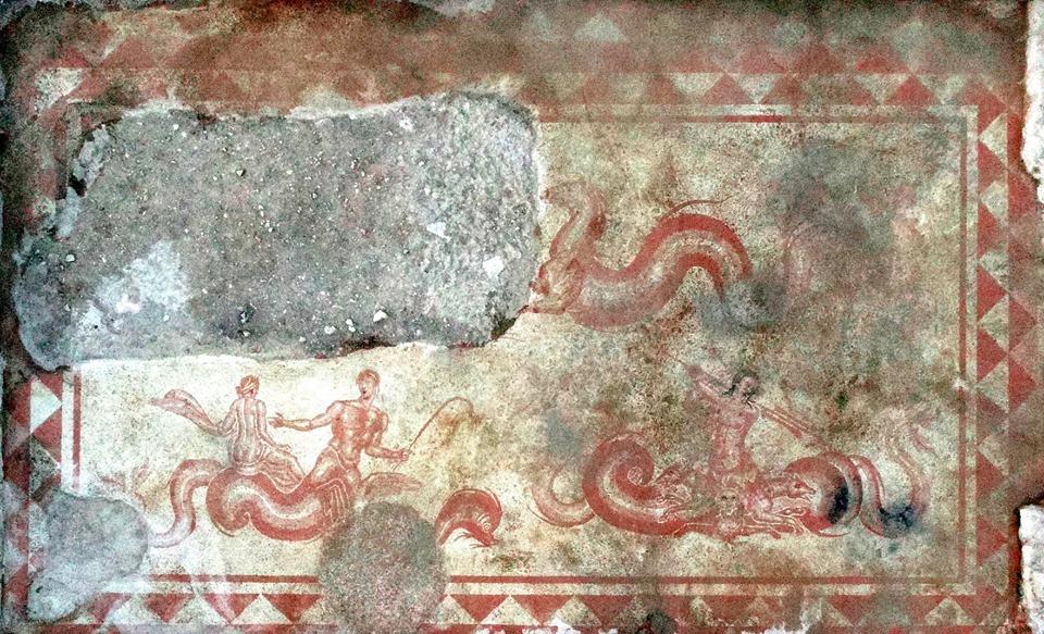 Umbria, scoperto uno dei più grandi mosaici romani della regione: 50 metri quadri di superficie musiva