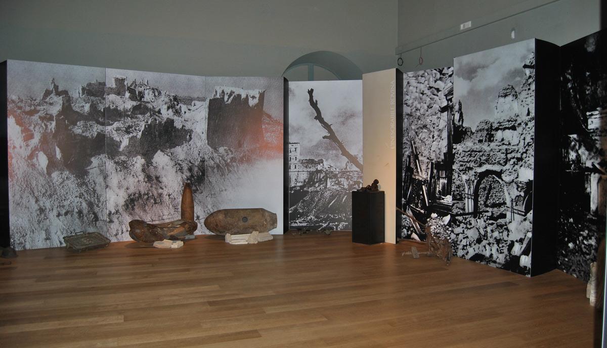 Montecassino, Franca Pisani riporta in vita i resti dell'Abbazia distrutta dagli alleati
