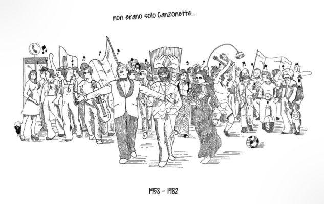 Una mostra racconta la storia d'Italia dagli anni Cinquanta agli anni Ottanta attraverso... le canzonette