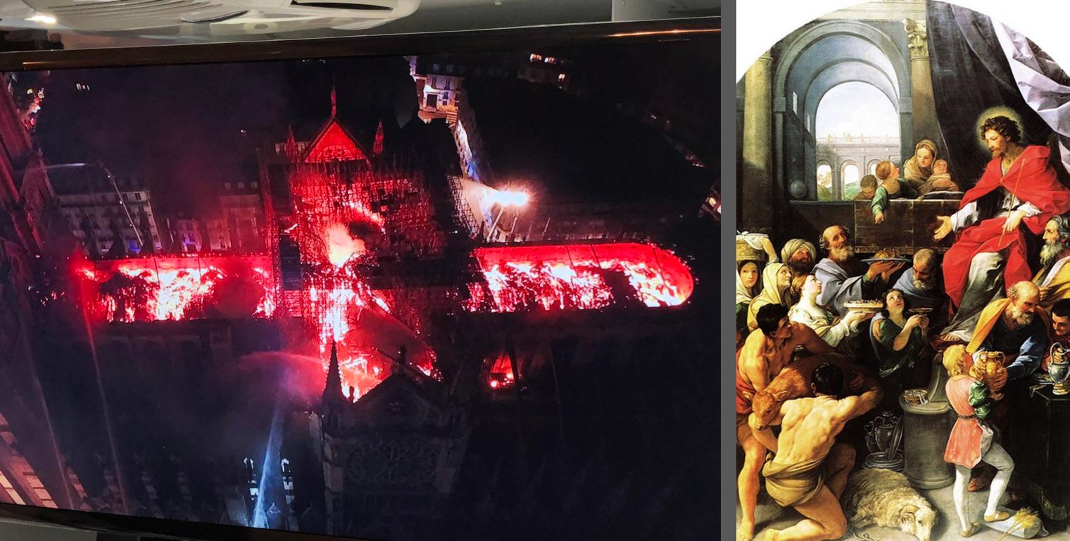 Da Guido Reni e Ludovico Carracci alle vetrate. Le opere che rischiamo di perdere per sempre nell'incendio di Notre Dame