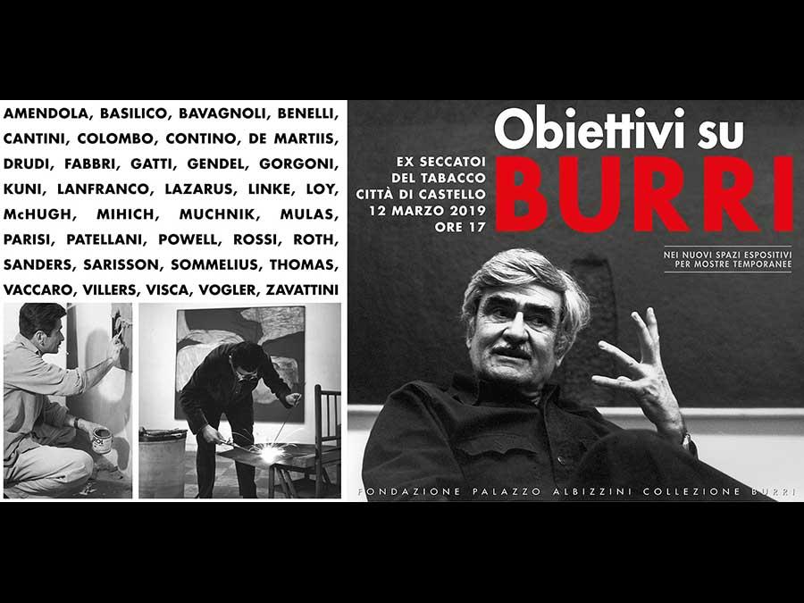 Fotografie e ritratti di Burri dal 1954 al 1993: Città di Castello omaggia il suo grande artista