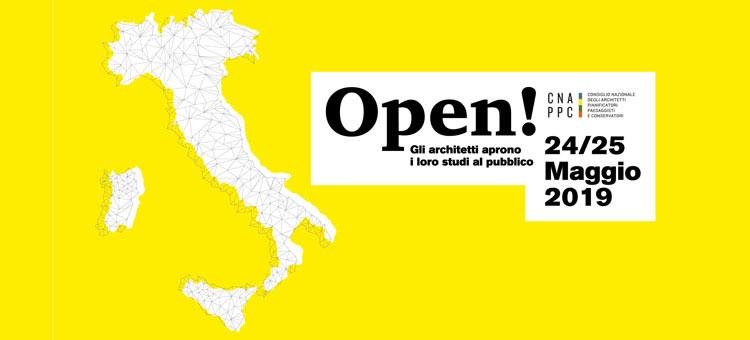 Open studi aperti: il 24 e il 25 maggio 2019 oltre 900 eventi in tutta Italia sull'architettura