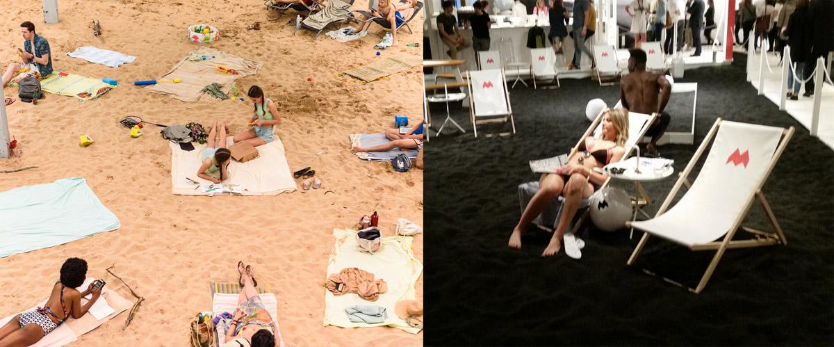Altro che Padiglione della Lituania: a Milano già due anni fa c'erano spiagge finte al Fuorisalone