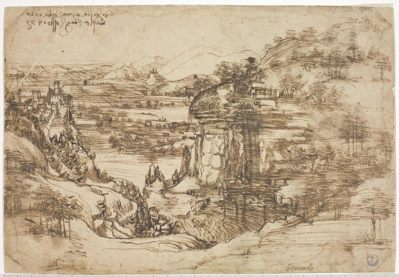 Il celeberrimo Paesaggio di Leonardo da Vinci è sottoposto per la prima volta ad analisi scientifiche