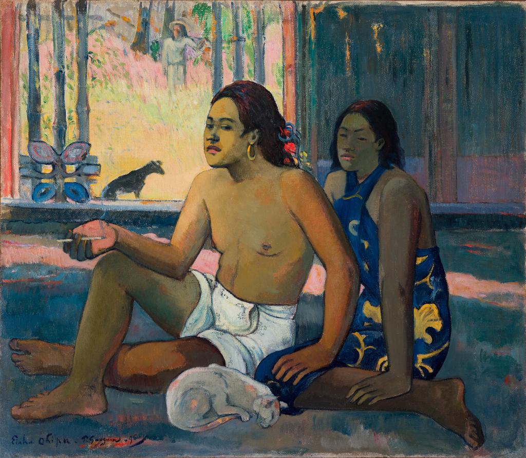 """Paul Gauguin, il dipinto """"Tahitiani in una stanza"""" è in mostra a Vicenza"""