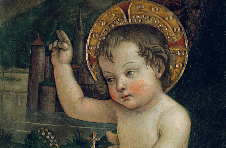 In Umbria viene esposto il Bambin Gesù delle Mani del Pinturicchio per il festival medievale
