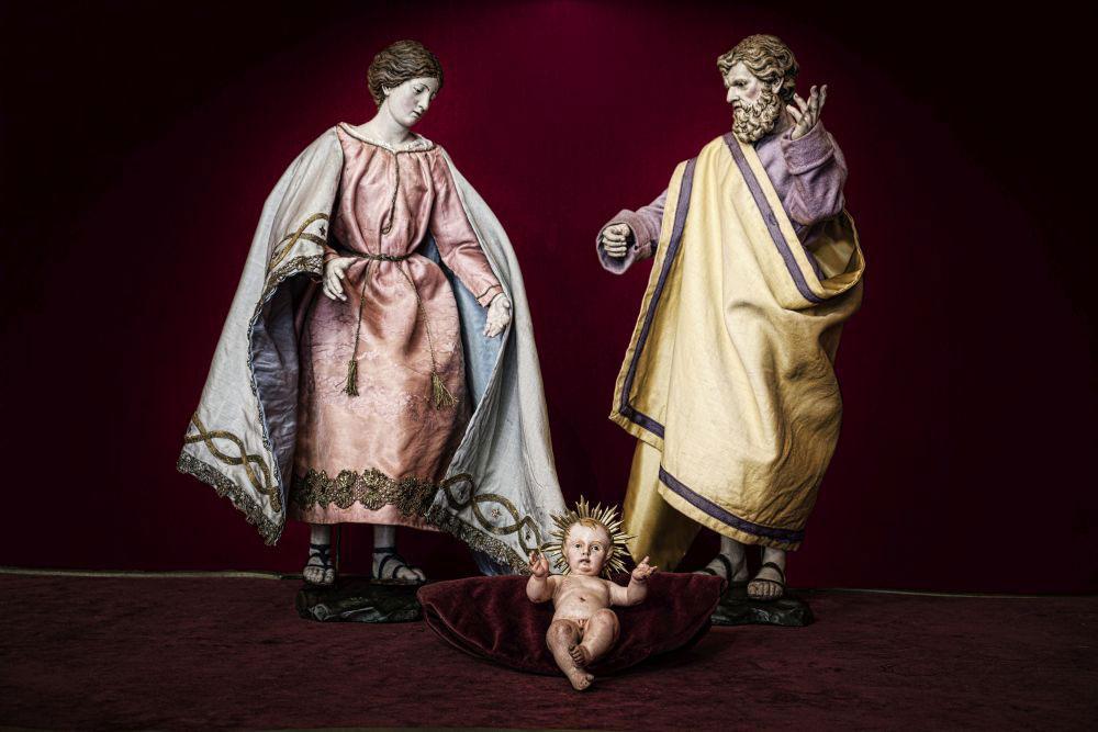 Il Presepe del Re in mostra a Palazzo Reale di Genova dopo un lungo restauro
