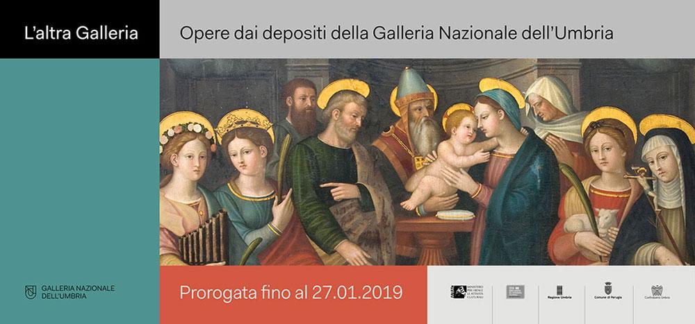 Prorogata la mostra L'altra Galleria. Opere dai depositi della Galleria Nazionale dell'Umbria