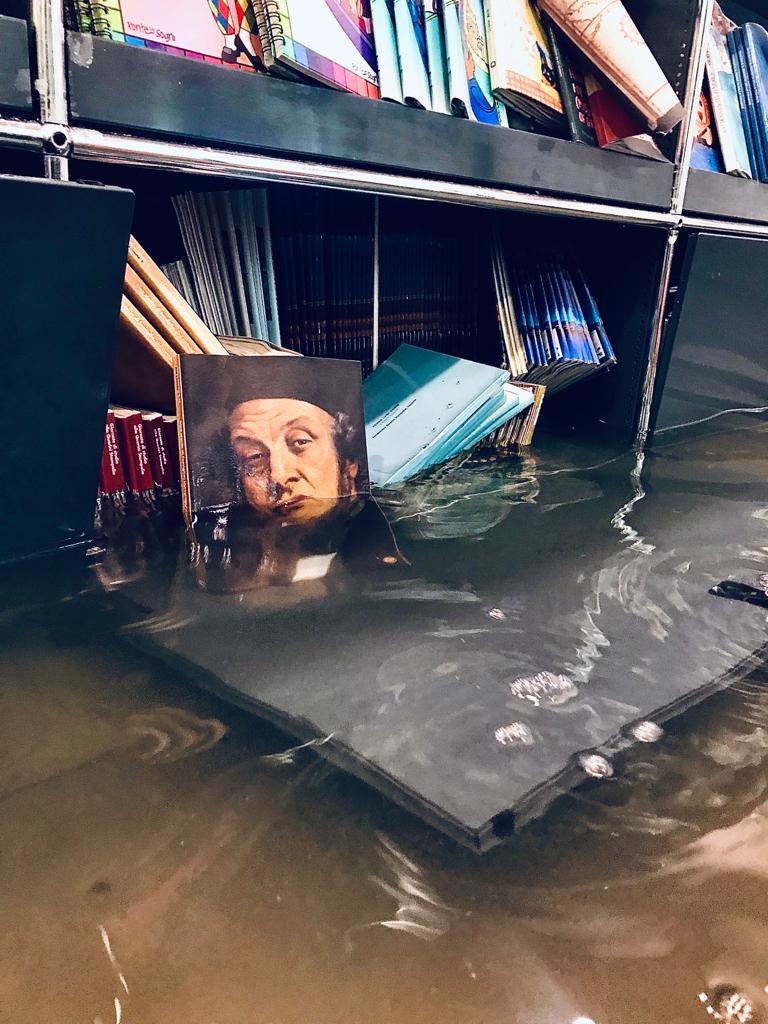 Venezia, è emergenza alla Querini Stampalia. Sommerse tantissime pubblicazioni, alla Fondazione serve aiuto
