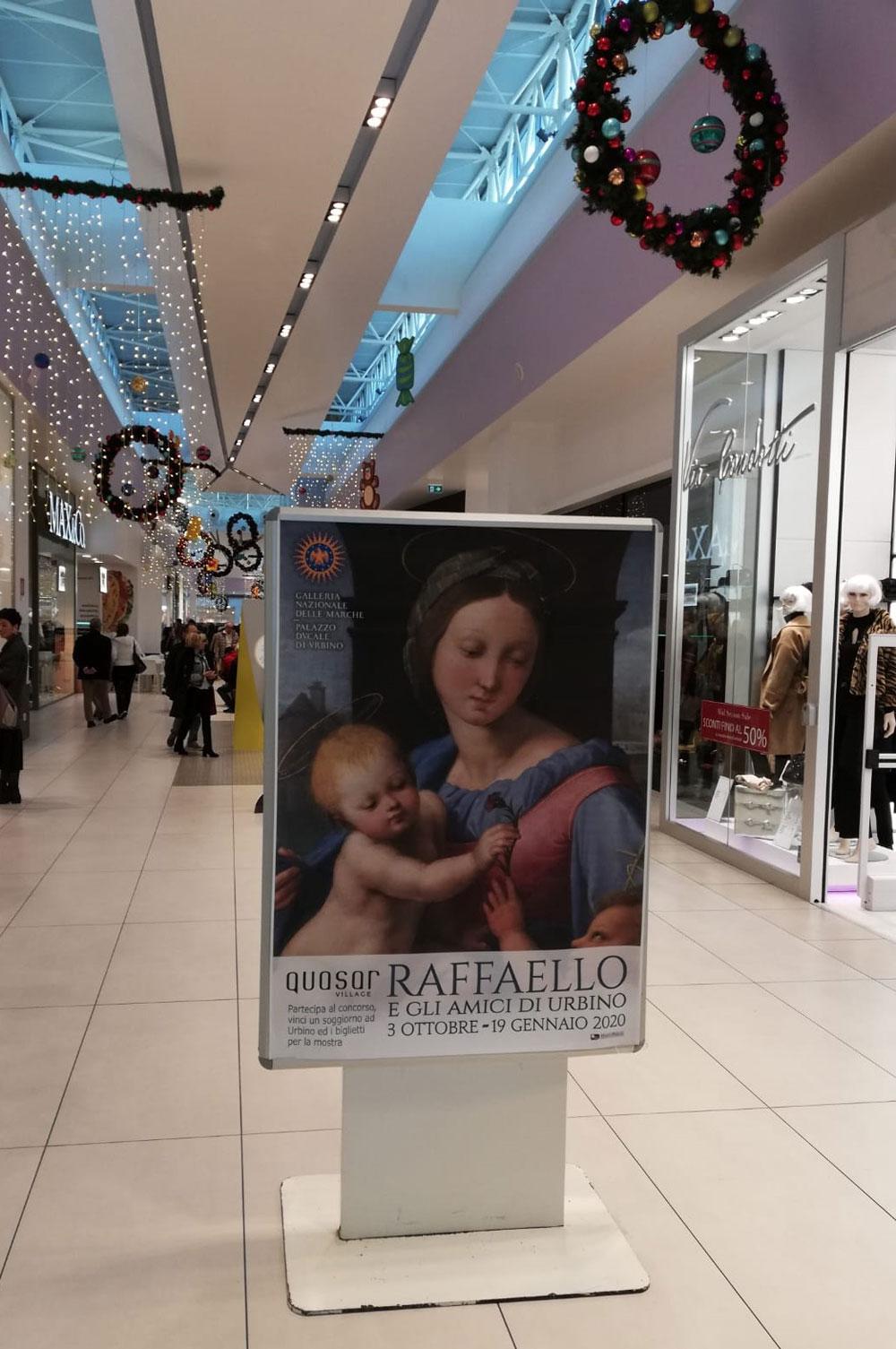 Vinci la mostra di Raffaello di Urbino nei centri commerciali di tutta Italia