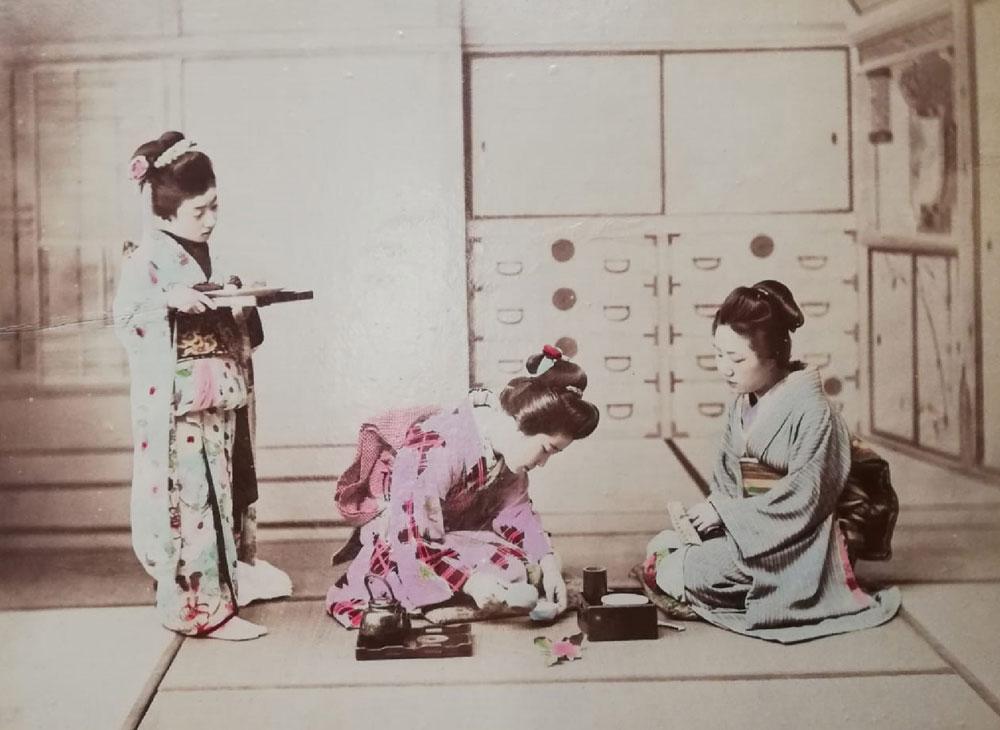 Fotografie di fine Ottocento raccontano il Giappone. A Villorba.