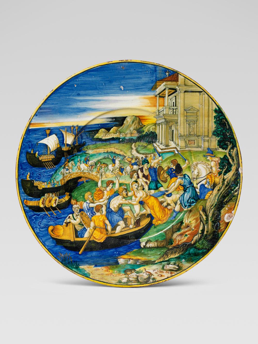 La storia della maiolica italiana rinascimentale raccontata in una mostra a Torino