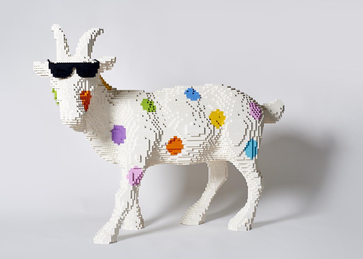 A Ravenna esposte 20 opere realizzate con i LEGO da Riccardo Zangelmi