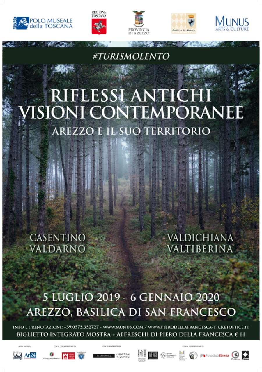 Ad Arezzo una mostra sul territorio sotto gli affreschi di Piero della Francesca