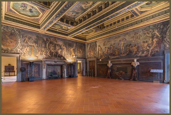 Firenze, dopo due anni termina il restauro della Sala degli Elementi in Palazzo Vecchio. Possibile grazie a un finanziamento privato