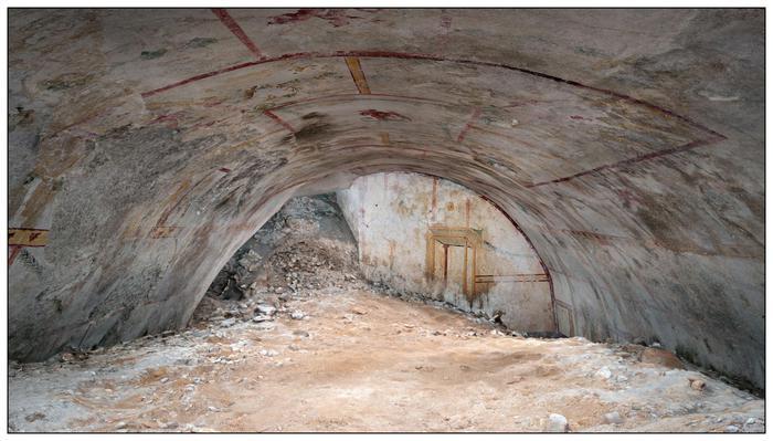 Importante scoperta a Roma, alla Domus Aurea torna alla luce Sala della Sfinge