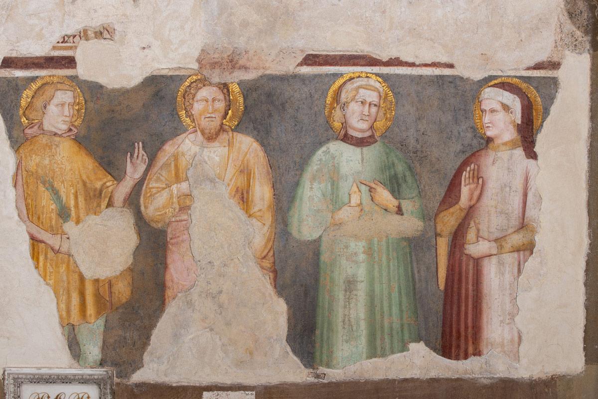 I santi attributi a Stefano di Benedetto da Ferrara