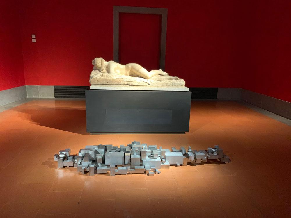 Agli Uffizi arrivano a sorpresa due opere dell'artista contemporaneo Antony Gormley