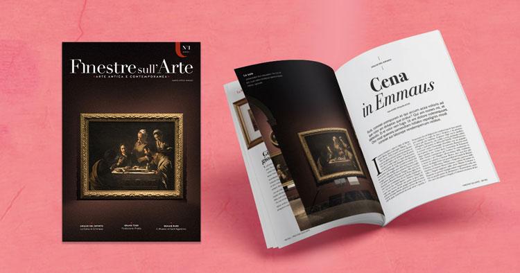 Finestre sull'Arte è anche su carta. Sfoglia il primo articolo della nuova rivista, dedicato a Caravaggio