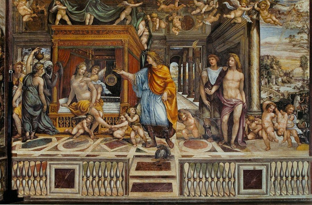 Roma, partono i restauri alla Villa Farnesina: intervento sugli affreschi del Sodoma nella sala delle nozze