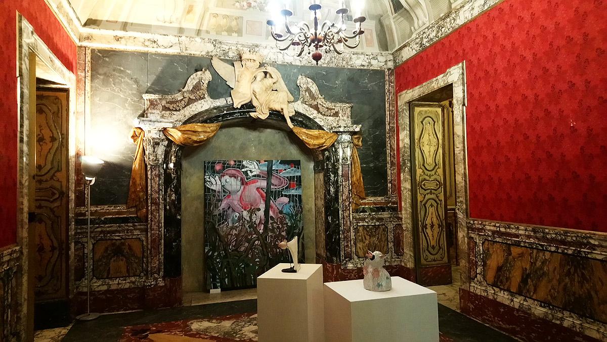 A Carrara c'è un nuovo spazio per l'arte nelle splendide sale di Palazzo del Medico: Vôtre. Ecco le foto