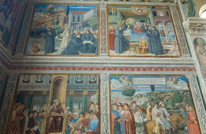 A San Gimignano via al restauro degli affreschi di Benozzo Gozzoli