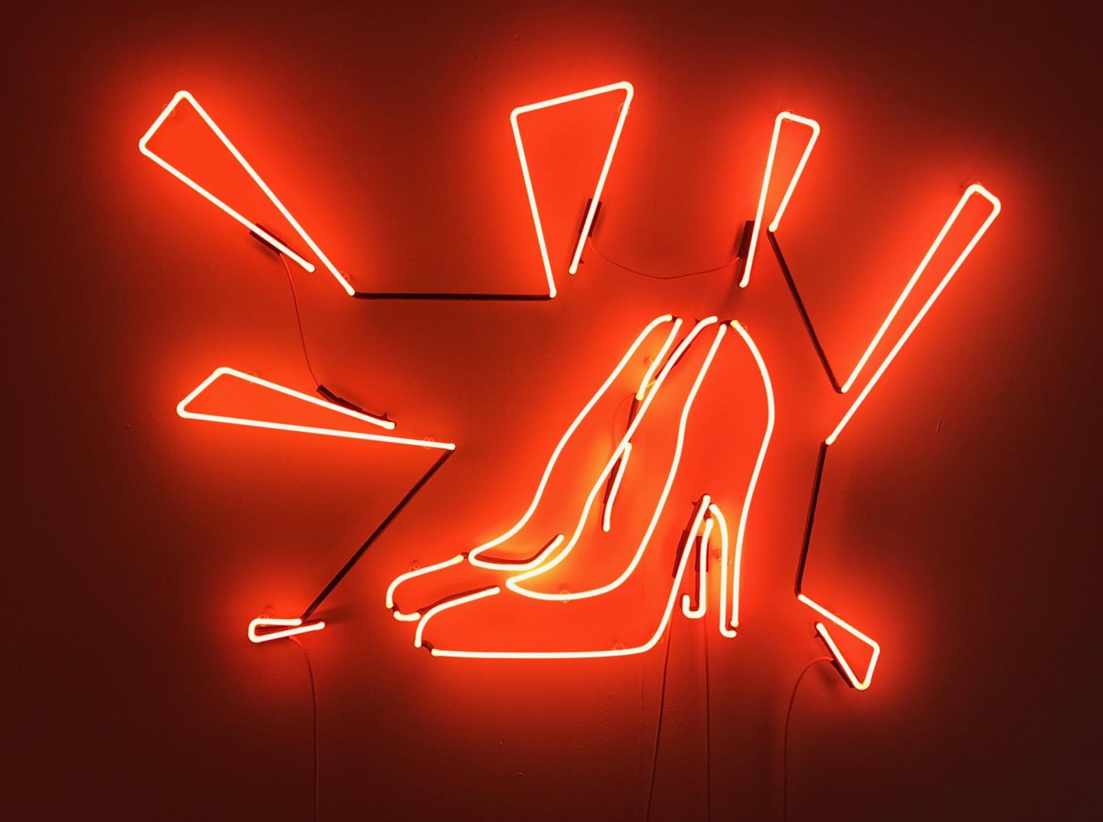 """A Roma la prima personale italiana di Sylvie Fleury, intitolata """"Chaussures italiennes"""""""