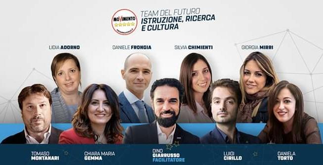 """Lo storico dell'arte Tomaso Montanari nel """"Team del Futuro"""" del Movimento 5 Stelle che si insedia oggi"""
