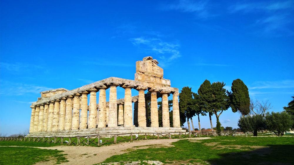 Paestum: riparte il restauro del Tempio di Athena