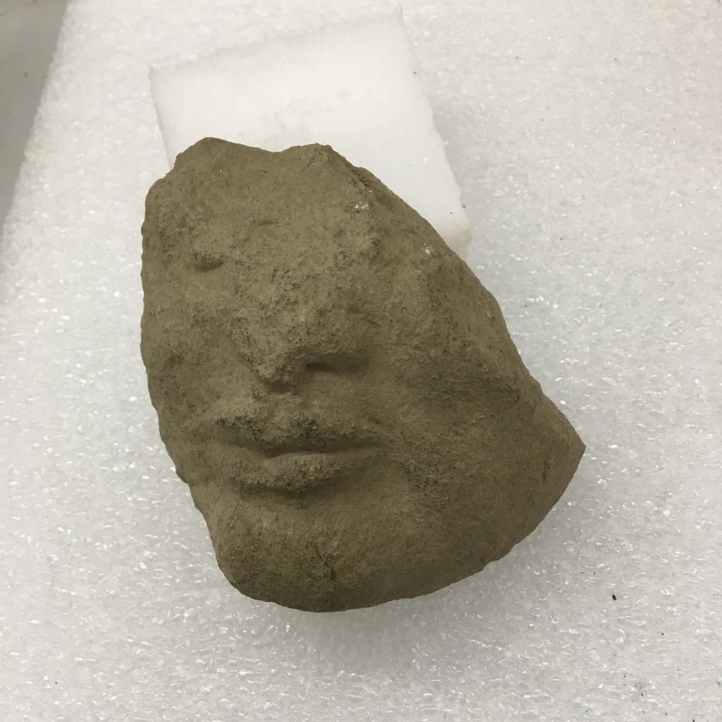 A Paestum scoperto un frammento di una scultura arcaica nel santuario di Atena