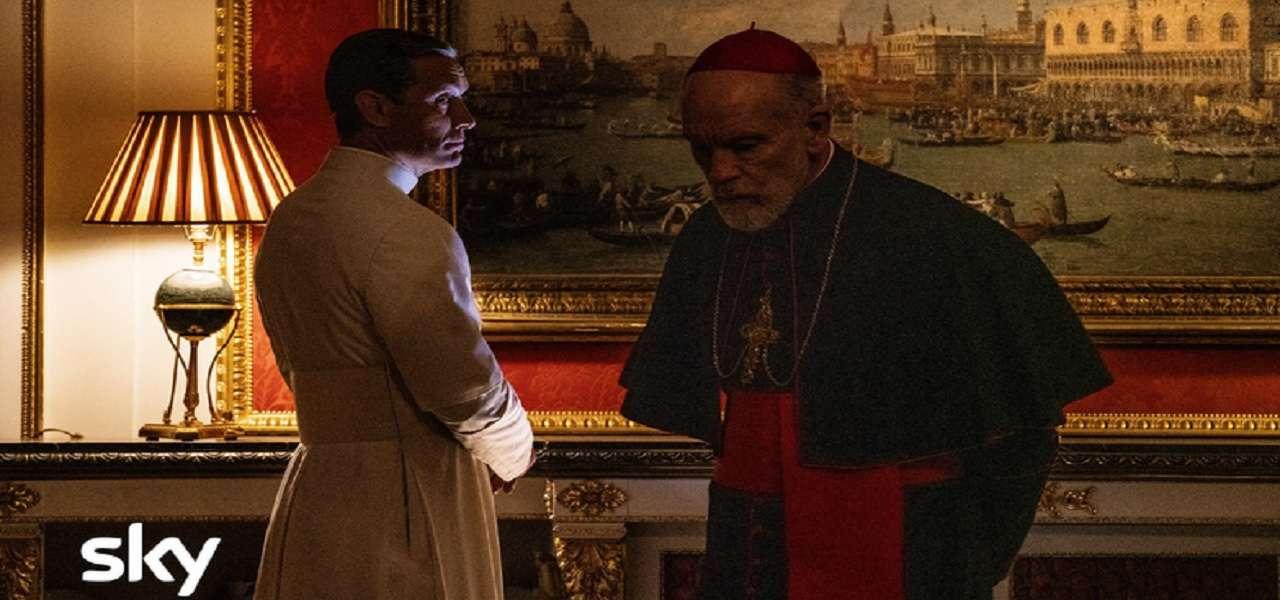 """Anticipazioni su """"The New Pope"""", seguito di """"The Young Pope"""": ci saranno Malkovich, Marilyn Manson e Sharon Stone"""
