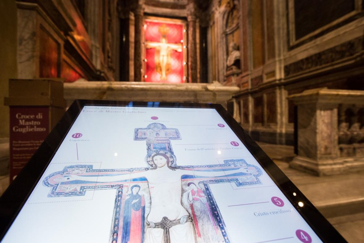 Ecco la guida digitale per scoprire la Croce di Guglielmo a Sarzana, la prima croce datata della storia dell'arte