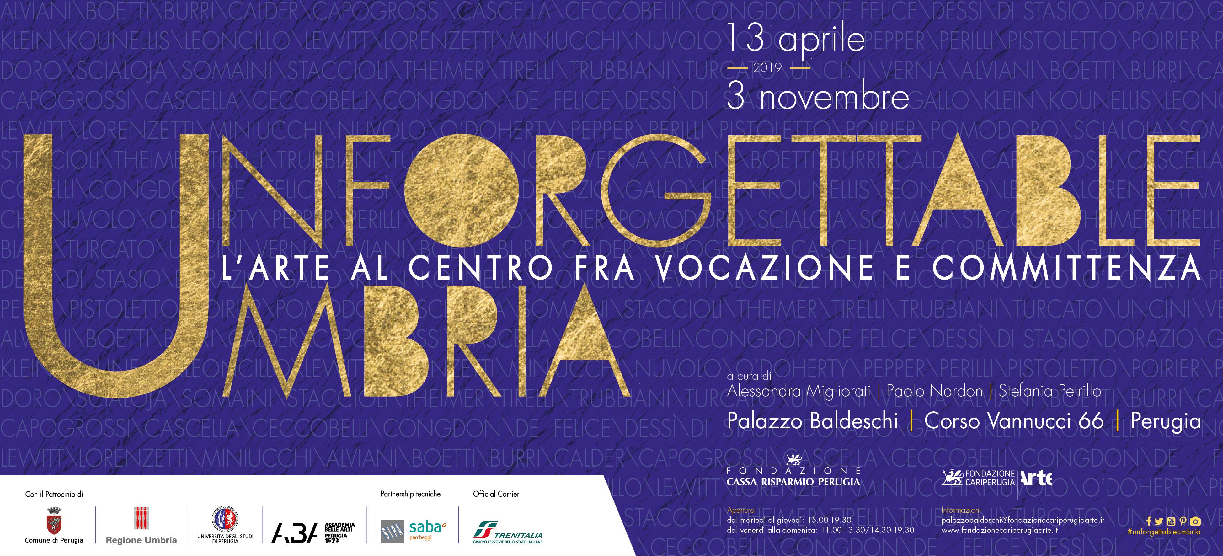 Da Burri a Capogrossi, da Klein a Calder, l'Umbria degli artisti del Novecento in mostra a Perugia