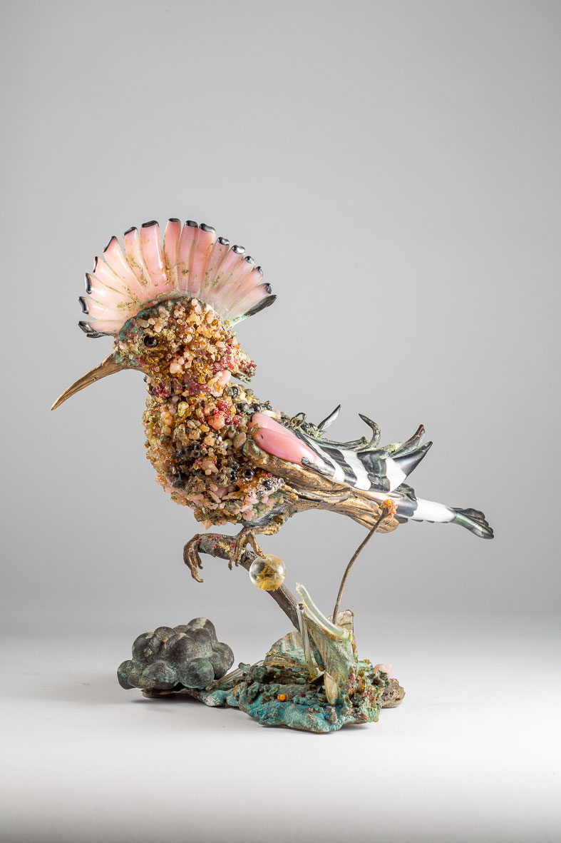 Galli, galline, upupe e altri animali di Toni Zuccheri al Museo Bagatti Valsecchi