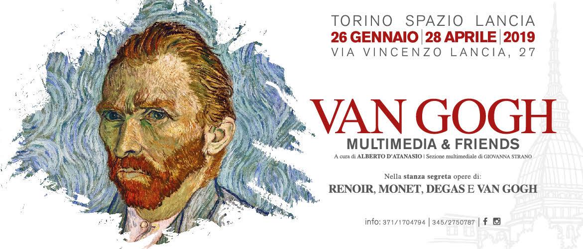 A Torino una mostra multimediale dedicata a Van Gogh