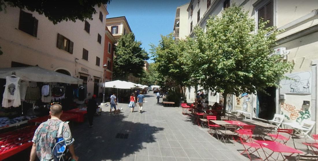 Roma, in questa strada nascerà una grande opera di street art con i nomi di 36.570 migranti morti nel Mediterraneo
