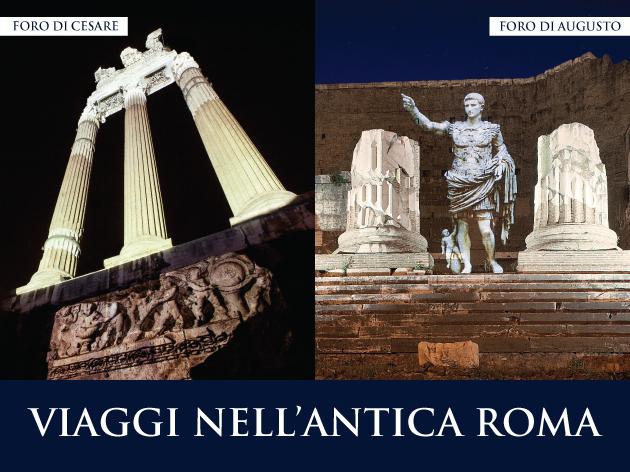 Roma, Piero Angela e Paco Lanciano fanno rivivere la storia dei Fori con uno spettacolo multimediale
