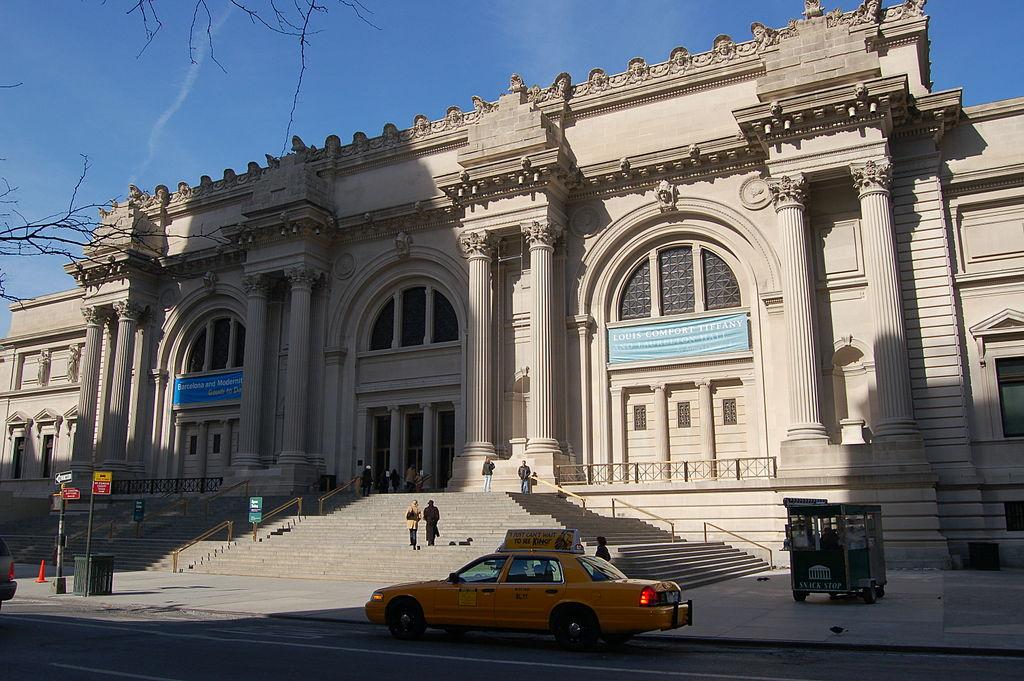Ingresso del Metropolitan Museum. Ph. Credit Rob Young