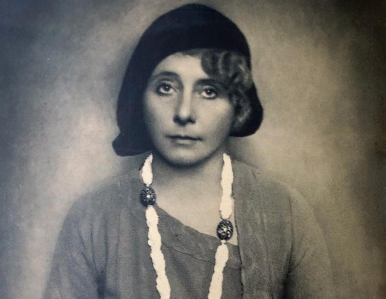 Margherita Sarfatti ritratta da Ghitta Carell