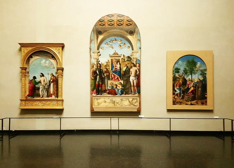 Una sala delle Gallerie dell'Accademia di Venezia