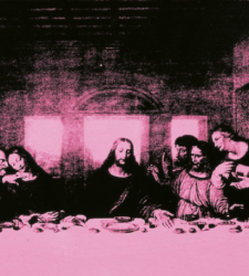 Leonardo e Andy Warhol insieme a Milano, alla Cripta di San Sepolcro