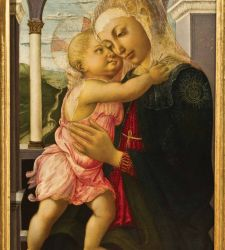Per la prima volta la Madonna della Loggia di Botticelli protagonista all'Hermitage