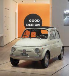 La FIAT 500 a New York al centro di una mostra che racconta la storia del design industriale