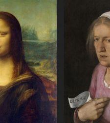 Il fondotinta della Gioconda e il mascara della Vecchia di Giorgione