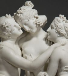 Milano, alle Gallerie d'Italia una grande mostra per l'inedito confronto Canova-Thorvaldsen, con i loro capolavori