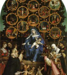 Il culto del rosario nell'arte: come si diffuse una celebre iconografia