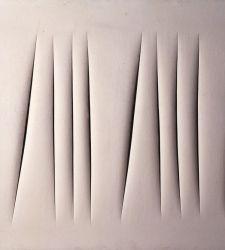 """Come Lucio Fontana realizzava i suoi tagli. Aspetti tecnici delle sue """"Attese"""""""