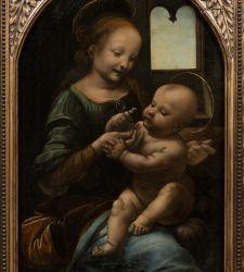 La Madonna Benois di Leonardo da Vinci alla Galleria Nazionale dell'Umbria, a confronto col Perugino
