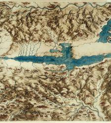 Leonardo fu anche cartografo. A Montepulciano una mostra attorno alla mappa della Valdichiana